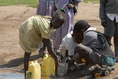clean water for african children